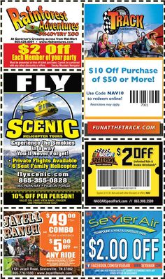 Get discounts on shows, attractions and more in Pigeon Forge and Gatlinburg, TN. Gatlinburg Coupons, All Coupons, Mountain Vacations, Pigeon Forge, Discount Coupons, Amazing Adventures, How To Apply, Mountains, Mom