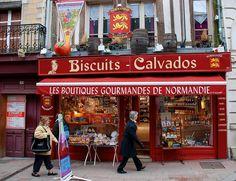 """Les Boutique Gourmande De Normandie"" Biscuits and Calvados - Normandy, France by Eric Tressler"