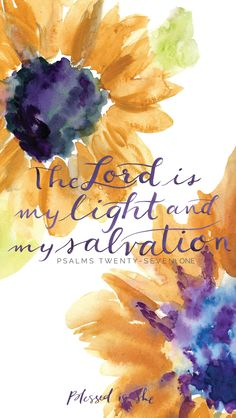 Week of Lent // Psalms // The Lord is my light and my salvation // Blessed is She Biblical Quotes, Religious Quotes, Bible Verses Quotes, Bible Scriptures, Faith Quotes, Blessed Is She, Bible Verse Wallpaper, In Christ Alone, Favorite Bible Verses