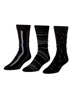 Urban motif sock 3-pack $10 (would Dad wear these?)