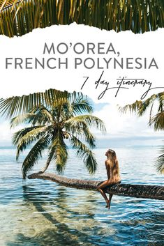 Discover recipes, home ideas, style inspiration and other ideas to try. French Polynesia Honeymoon, Tahiti French Polynesia, Air Tahiti, Tahiti Nui, Moorea Tahiti, Romantic Vacations, Romantic Travel, Dream Vacations, Ponds
