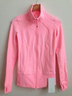 Lululemon Bleached Coral Nice Asana Jacket Size 4 NWT  #Lululemon #CoatsJackets