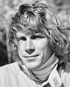 "Happy Birthday, James Hunt. (29 August 1947 – 15 June 1993)  Even if you're not an F1 fan, you'll recognize his name from the Ron Howard film ""Rush"". This photo was taken right before James Hunt would drive Car Number 27, a March 731, qualified fourth and finished second in the 59 laps race at the 1973 United States Grand Prix Watkins Glen.  Photographer - Eric della Faille  #F1 #Formula1 #Driver #RaceCar #Racer #GP #GrandPrix #Celebrity #Hesketh #HuntTheShunt #McLaren #March731 #Hollywood…"