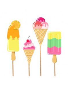 Dondurma Bebek Parti Çubukları