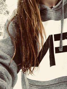 Nf hoodie in the snow ❄️