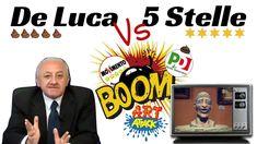 DE LUCA SI SCATENA DI NUOVO CONTRO I 5 STELLE..! EPICO
