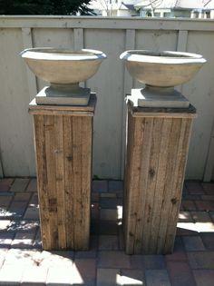 Wood / Pallet, planter Stands