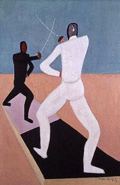 Avery, Milton (1898-1965) - The Fencers