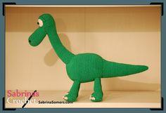 Sabrina's Crochet, #haken, gratis patroon, Nederlands, dinosaurus, knuffel, speelgoed, haakpatroon, amigurumi