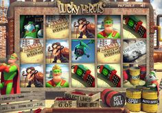 Everyone loves a superhero; they make the world a better place! Meet the new heroes in town, Mighty Mick and his quirky sidekick Ralph Racoon, they're both here to bring you luck and help you prosper with the big jackpots! In this 5 reel and 20 payline slot you'll be helping them fight evil and get towards the huge reward for saving the day!    Would you like to play the new Lucky Heroes 3D slot? Register with Castle Casino today!