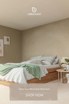 Using different shades of natural tones is creating a calm and soothing atmosphere. Sleep peacefully in the softest, cosiest bedding made from the finest natural fabrics out there – sweet dreams! Linen in a selection of shades to complement all interiors. Discover hand-picked home textiles and home accessories from URBANARA!