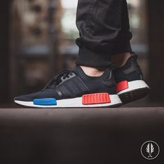 Adidas Nmd Original Boost Runner Primeknit Core Black