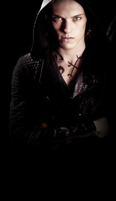 So I just saw The Mortal Instruments City of Bones....and I'm kinda in love with this guy right now James Campbell Bower