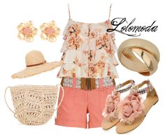 #Summer #2014, see where to find items in this #outfit here: http://lolomoda.com/simple-shorts-and-tops-summer-fashion/