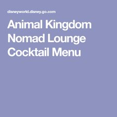 Animal Kingdom Nomad...