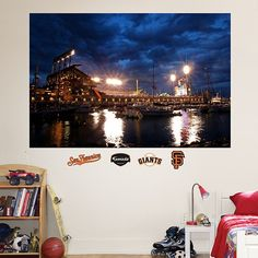 (http://www.morganauthentics.com/at-t-park-mccovey-cove-san-francisco-giants-mural-fathead/)  $99.99