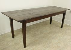 Antique French Oak Farm Table   From a unique collection of antique and modern dining room tables at https://www.1stdibs.com/furniture/tables/dining-room-tables/