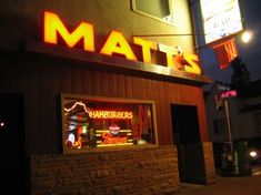 Another Cedar Avenue staple: Matt's Bar. Home to the infamous Minneapolis Juicy Lucy. Don't let anyone ever ever ever tell you that the Juicy Lucy comes ...