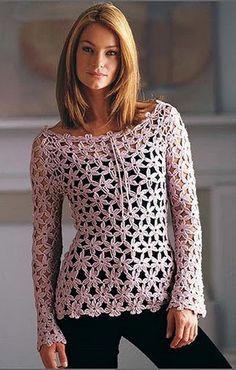 Resultado de imagen para blusas tejidas de moda