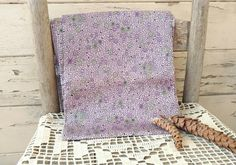 Check out this item in my Etsy shop https://www.etsy.com/listing/265800882/retro-purple-silky-feedsack-vintage