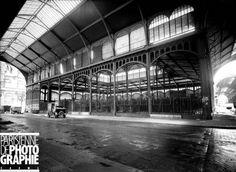 Paris. Le pavillon des Halles centrales (1854-1870), constructed by French architect Victor Baltard.