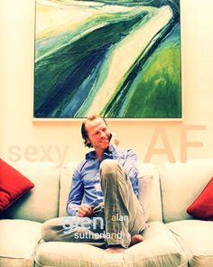 Iain Glen, Emotionally Drained, Anne Frank, French Countryside, Precious Moments, This Man, Smooth, In This Moment, Shit Happens