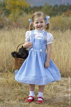 (Oz Büyücüsü itibaren) DIY Dorothy Kostüm | aracılığıyla Make It ve Love It