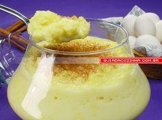 Receita de Ambrosia de leite condensado