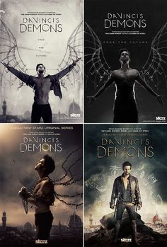 Da Vinci's Demons is an American historical fantasy drama series that presents a fictional account of Leonardo da Vinci's early life. The series was conceived by David S. Goyer and stars Tom Riley in the title role. It is developed and produced in collaboration with BBC worldwide and is shot on location in Wales. The series has been distributed to over 120 countries.