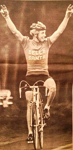 Young Greg LeMond for Della Santa (a custom bicycle frame builder in Reno, NV  for over 30 years.)