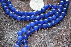 Blue Agate Handmade Meditation Mala Necklace -Bles – AwakenYourKundalini