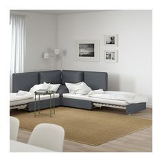 VALLENTUNA Sleeper sectional, 2-seat IKEA Add, remove or change functions to suit your needs, and choose covers to fit your style.