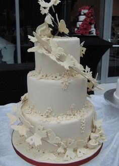 Hochzeitstorte - Selbsttragende Hochzeitstorten -