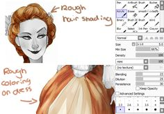"""cccrystalclear: """"My brush settings and what I use them for, the mimi brush is personal but the setting is more imporant """""""