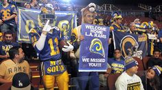 Newsela | After decades of waiting, Rams pro football team returns to L.A.