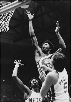 Moses Malone, Utah Stars.