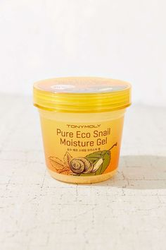Shop the best affordable beauty finds at @urbanoutfitters   TONYMOLY Pure Eco Snail Moisture Gel, $14