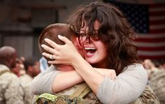 No words can describe this feeling (U.S. Marine Corps photo by Lance Cpl. Stephen T. Stewart)