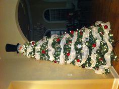 Awesome snowman Christmas tree!!!!