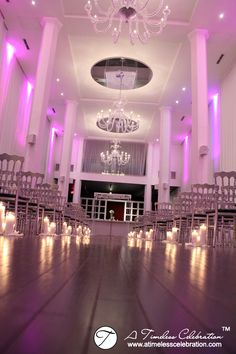 Pillar Candle Trios Lined the Wedding Ceremony Aisle at Loft Hotel Montreal, Best Picture For wedding ceremony decorations on a budget For Your Taste You ar Wedding Ceremony Flowers, Wedding Ceremony Decorations, Wedding Venues, Wedding Cars, Montreal, Sweetheart Table Backdrop, Loft Hotel, Voyage Canada, Feather Centerpieces
