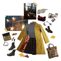 """""""Warm"""" by thecatswhiskers ❤ liked on Polyvore featuring Trina Turk, Carven, Rena Rowan, Frye, Avon, Maison Michel, Épice, Forever 21 and Vivienne Westwood"""