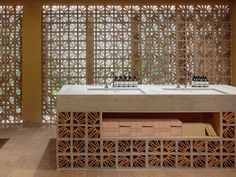 Breeze Block Aesop Store in Sao Paulo by Campana Brothers | Yellowtrace
