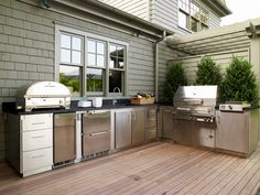 outdoor kitchen :)