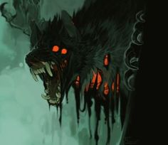 Color Illustrations on Werewolf-Horror - DeviantArt Monster Art, Monster Design, Arte Horror, Horror Art, Dark Fantasy Art, Dark Art, Creature Drawings, Creepy Art, Creature Concept