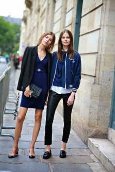 "fashion-clue: ""d-e-a-r-vogue: ""streetsofvogue: "" more here. "" More here. "" www.fashionclue.net | Fashion Tumblr, Street Wear & Outfits "" thefashionablekelebek"