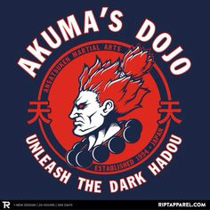 Akuma T-Shirt Street Fighter