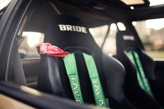 brides with takata harness's
