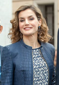 Queen Letizia of Spain attendS the opening of the painting exhibition 'The Bosch' at El Prado Museum on May 30 2016 in Madrid Spain