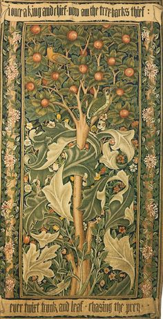 Woodpecker Tapestry Wall Hanging or Rug