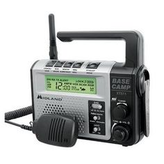 pThe Base Camp Radio combines the emergency power of a Dynamo Crank with GMRS 2 way radio technology. The is ideal for hiking or camping enthusiasts as an essential precautionary tool for any emergency situation. Compatible with other FRSGMRS radios. Camping Survival, Survival Prepping, Emergency Preparedness, Survival Gear, Survival Skills, Emergency Planning, Survival Stuff, Survival Equipment, Survival Gadgets